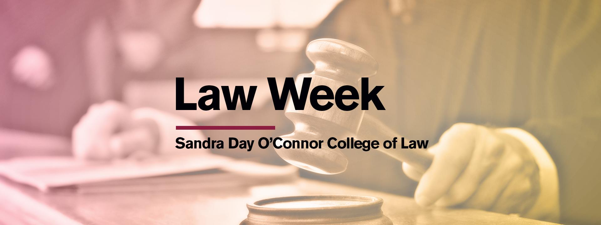Law Week graphic